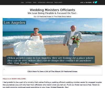 Wedding Ministers Officiants
